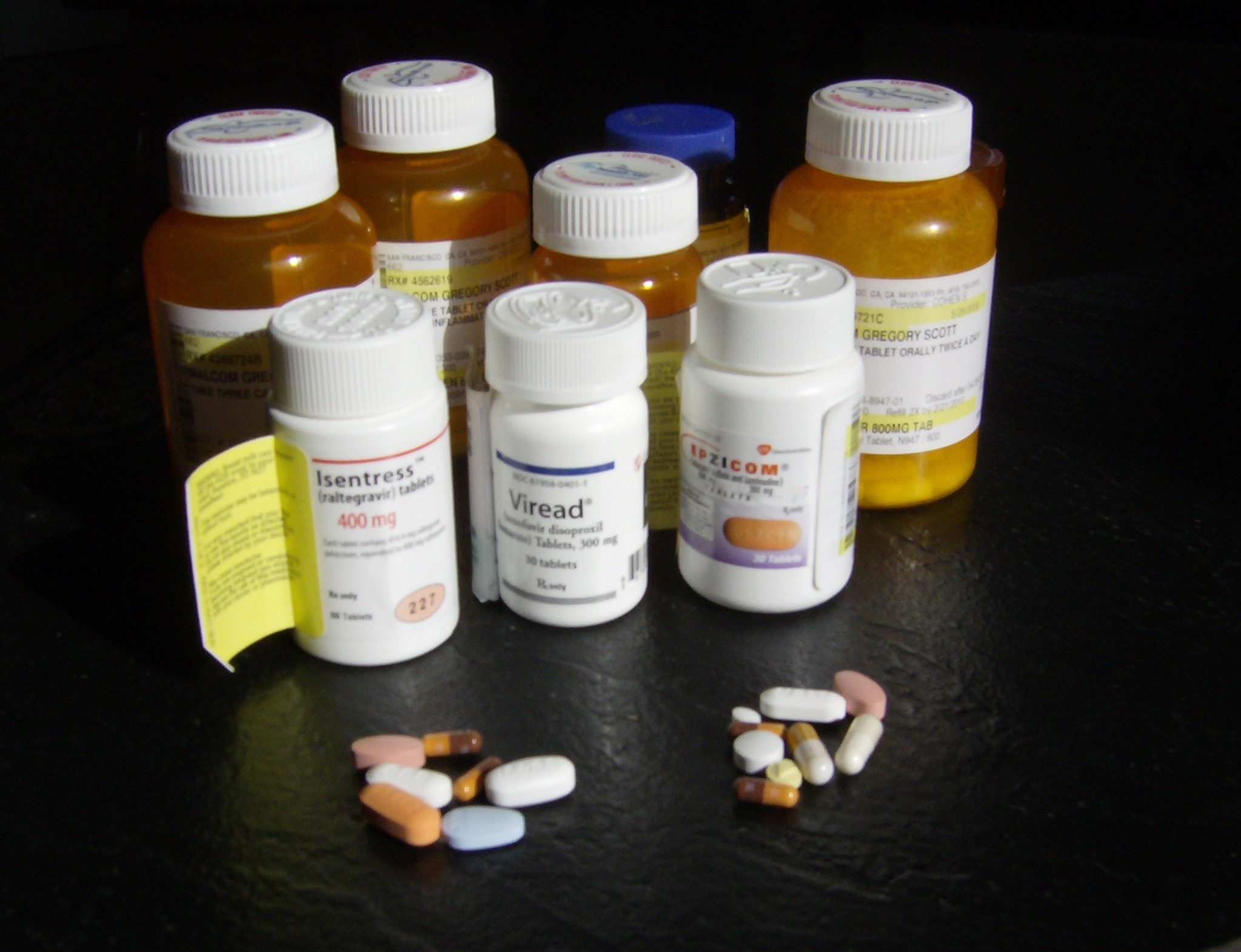 The b.i.d. reminder: I owe my life to protease inhibitors.