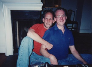 With my dear friend J.B. who was always there for me through the worst of my illness.
